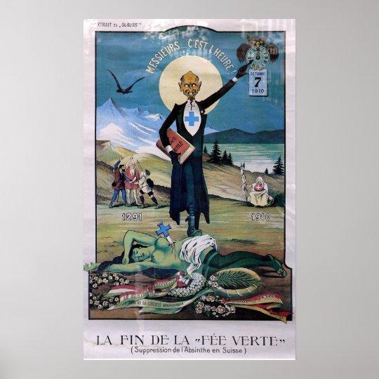 Affiche Absinthe Poster