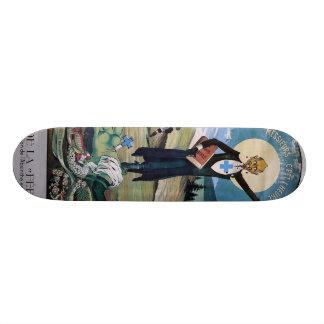 Affiche absinthe skateboard deck