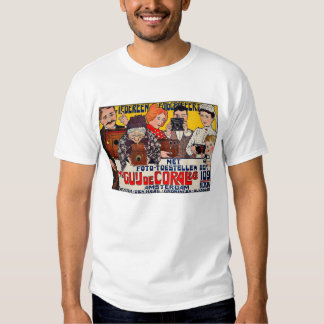 Affiche Advertising - Cameras T-shirt