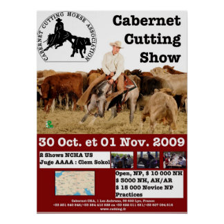 Affiche Cabernet CHA Poster