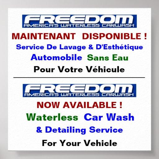 Affiche UltraLuster vierte el auto de Lave sin el  Póster