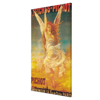 Affiches-Pichot Promotional Poster Canvas Print