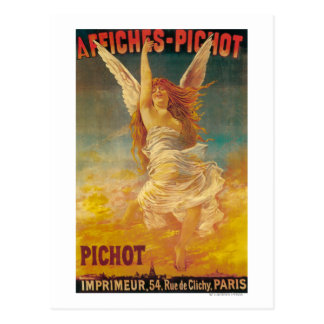 Affiches-Pichot Promotional Poster Postcard