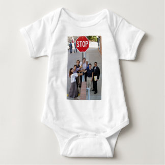 Affinity Group Collateral Damage Baby Bodysuit