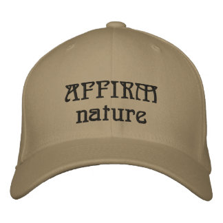AFFIRM NATURE EMBROIDERED BASEBALL HAT