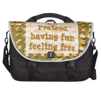 Affirmation STATEMENTS: Praise FUN Free - LOWPRICE Laptop Bag