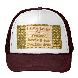 Affirmation STATEMENTS: Praise FUN Free - LOWPRICE Trucker Hat