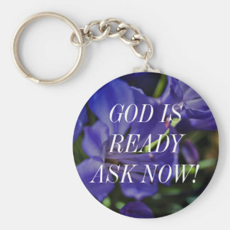 Affirmations & A New World Basic Round Button Keychain