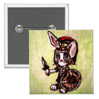 Affirmations Soldier 2 Inch Square Button