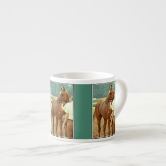 Affirmed Thoroughbred Racehorse 1978 6 Oz Ceramic Espresso Cup