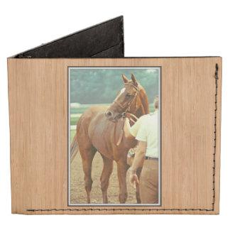 Affirmed Thoroughbred Racehorse 1978 Billfold Wallet