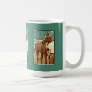 Affirmed Thoroughbred Racehorse 1978 Classic White Coffee Mug
