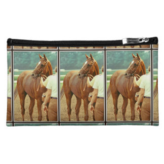 Affirmed Thoroughbred Racehorse 1978 Cosmetic Bag