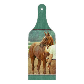 Affirmed Thoroughbred Racehorse 1978 Cutting Board