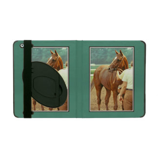 Affirmed Thoroughbred Racehorse 1978 iPad Cover
