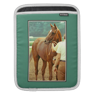 Affirmed Thoroughbred Racehorse 1978 iPad Sleeve