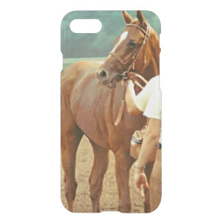 Affirmed Thoroughbred Racehorse 1978 iPhone 8/7 Case