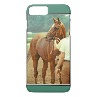 Affirmed Thoroughbred Racehorse 1978 iPhone 8 Plus/7 Plus Case
