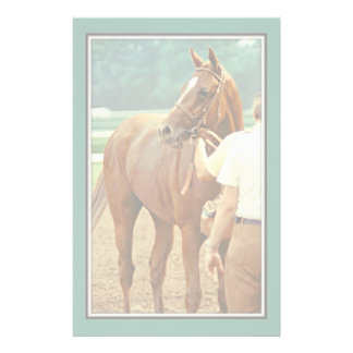 Affirmed Thoroughbred Racehorse 1978 Stationery