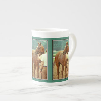 Affirmed Thoroughbred Racehorse 1978 Tea Cup