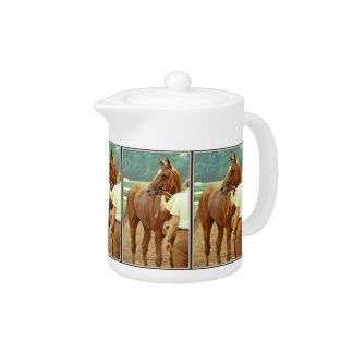 Affirmed Thoroughbred Racehorse 1978 Teapot