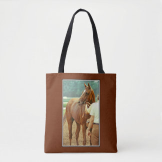 Affirmed Thoroughbred Racehorse 1978 Tote Bag