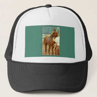 Affirmed Thoroughbred Racehorse 1978 Trucker Hat