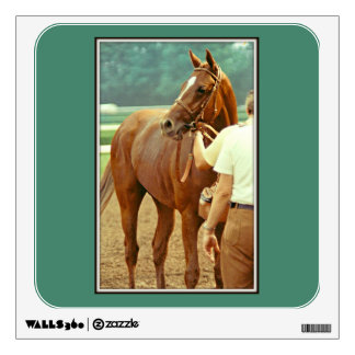 Affirmed Thoroughbred Racehorse 1978 Wall Sticker