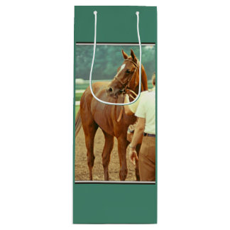 Affirmed Thoroughbred Racehorse 1978 Wine Gift Bag