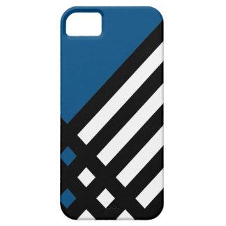 Affix Ebony III (Blue) iPhone Case