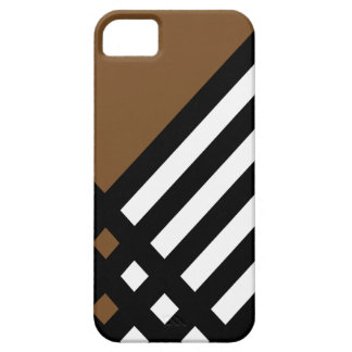 Affix Ebony III (Brown) iPhone Case