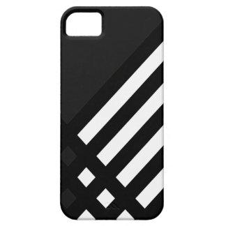 Affix Ebony III (Charcoal) iPhone Case