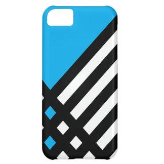 Affix Ebony III (Cyan) iPhone Case