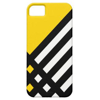 Affix Ebony III (Gold) iPhone Case