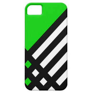 Affix Ebony III (Lime) iPhone Case