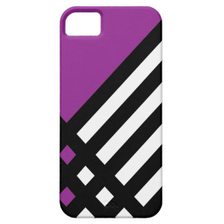Affix Ebony III (Purple) iPhone Case