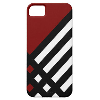 Affix Ebony III (Red) iPhone Case