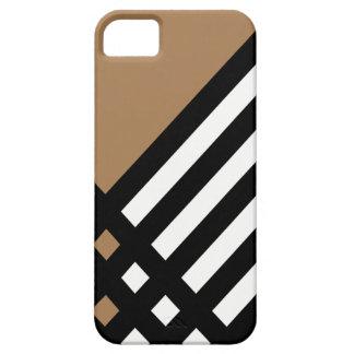Affix Ebony III (Tan) iPhone Case