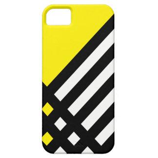 Affix Ebony III (Yellow) iPhone Case