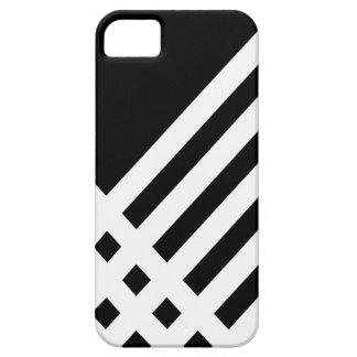 Affix Ivory III (Black) iPhone Case