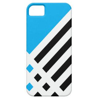 Affix Ivory III (Cyan) iPhone Case