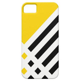 Affix Ivory III (Gold) iPhone Case