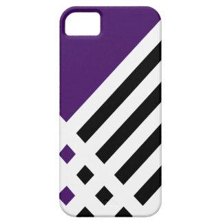 Affix Ivory III (Indigo) iPhone Case