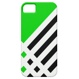 Affix Ivory III (Lime) iPhone Case