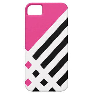Affix Ivory III (Magenta) iPhone Case