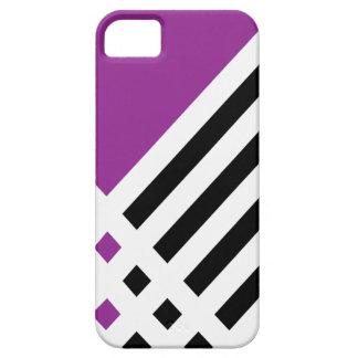 Affix Ivory III (Purple) iPhone Case