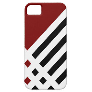 Affix Ivory III (Red) iPhone Case