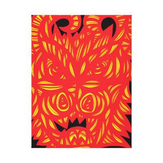 Affluent Admire Gregarious Ideal Canvas Print