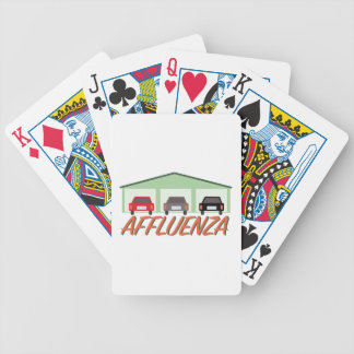 Affluenza   bicycle playing cards