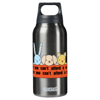 Afford Vet Afford Pet 10 Oz Insulated SIGG Thermos Water Bottle
